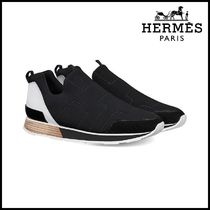 【HERMES】エルメス Nomade Trainers in technical canvas