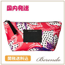 MARC JACOBS(マークジェイコブス) ポーチ 国内発送◆MARC JACOBS BYOT Spotted Lily Trapezoid ポーチ