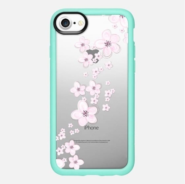 【税・送込】★Casetify★iPhone 7/7Plus☆桜降る♪