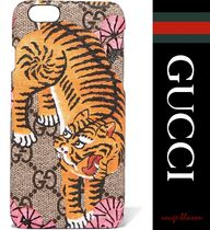 GUCCI(グッチ) スマホケース・テックアクセサリー 【国内発送】GUCCI iPhone6ケース Printed coated-canvas