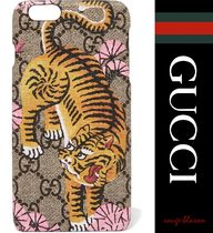 【国内発送】GUCCI iPhone6Plus Printed coated canvas