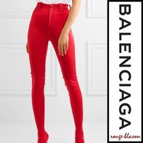 【国内発送】Balenciaga パンツ Stretch-satin skinny pants