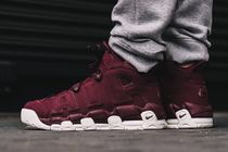 "[NIKE]AIR MORE UPTEMPO 96 QS ""NIGHT MAROON""【送料込】"