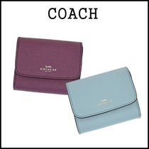 【即発★3-5日着】COACH★Crossgrain Card Case★F54843★新色!