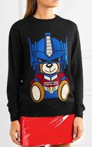 【国内送】新作!MOSCHINO☆Transformer×bear セーター