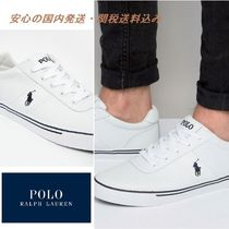Polo Ralph Lauren☆Hanford Leather Trainers♪