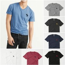 【Abercrombie&Fitch】BIG ICON V-NECK TEE ベーシックTシャツ