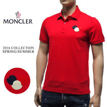 6 MONCLER モンクレール 新品本物 16ss 半袖 ポロシャツ レッド