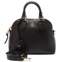 TORY BURCH ROBINSON PEBBLED MINI DOME SATCHEL 32149962