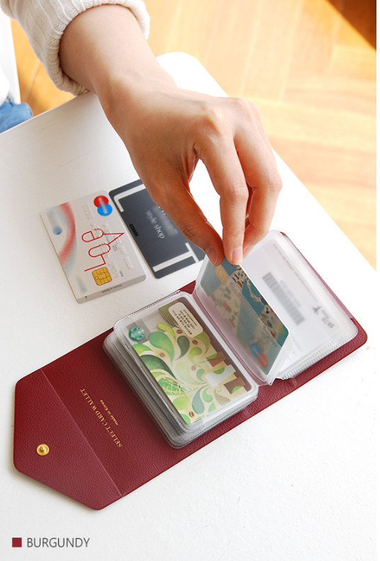 ◆PLEPIC◆  Select Card Wallet  6色