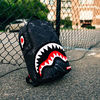 追尾/関税/送料込 SPRAYGROUND CHENILLE MARBLE SHARK BACKPACK