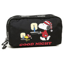 LeSportsac PEANUTS SNOOPY SLEEPOVER RECT-COSME 6511-G093