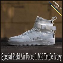 ★【NIKE】ナイキ Special Field Air Force 1 Mid Triple Ivory