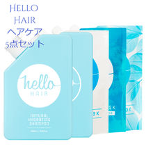 AUS発☆Hello Hair☆自然派☆ヘアケア5点セット
