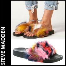 ★3-7日着/追跡&関税込【即発・STEVE MADDEN】Softey Fur Multi