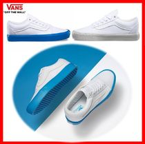 VANS(バンズ) スニーカー VANS★OLD SKOOL LITE★POP SOLE★22~28cm★TRUE WHITE/BLUE