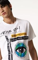 KENZO(ケンゾー) Tシャツ・カットソー 【国内送・関税込】新作!KENZO☆Rise Up プリント Tシャツ