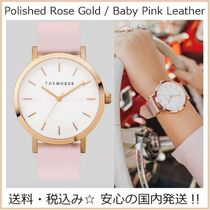 送料税込【The Horse】Polished RoseGold♪Baby Pinkレザー/国発