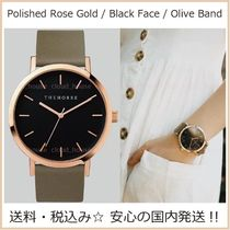 送料税込【The Horse】Polished RoseGold☆Oliveレザー/国内発送