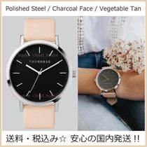 送料税込【The Horse】Silver&Black/Vegetable Tanレザー/国内発