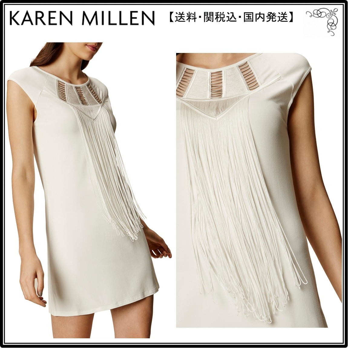 【UK発】Karen Millenワンピース☆Tunic T-shirt Dress