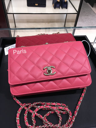 17Metier d'Art collection限定!CHANEL WOC TRENDY CC ROSE♪