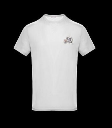 MONCLER Tシャツ・カットソー 完売必至★Moncler★2017AW新作★胸ワッペンTシャツ★4色展開(11)