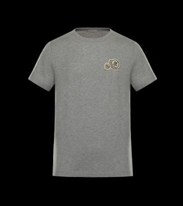 MONCLER Tシャツ・カットソー 完売必至★Moncler★2017AW新作★胸ワッペンTシャツ★4色展開(2)