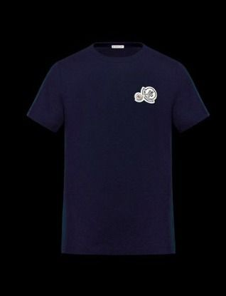 MONCLER Tシャツ・カットソー 完売必至★Moncler★2017AW新作★胸ワッペンTシャツ★4色展開(4)
