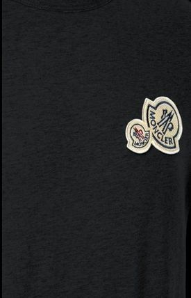 MONCLER Tシャツ・カットソー 完売必至★Moncler★2017AW新作★胸ワッペンTシャツ★4色展開(7)