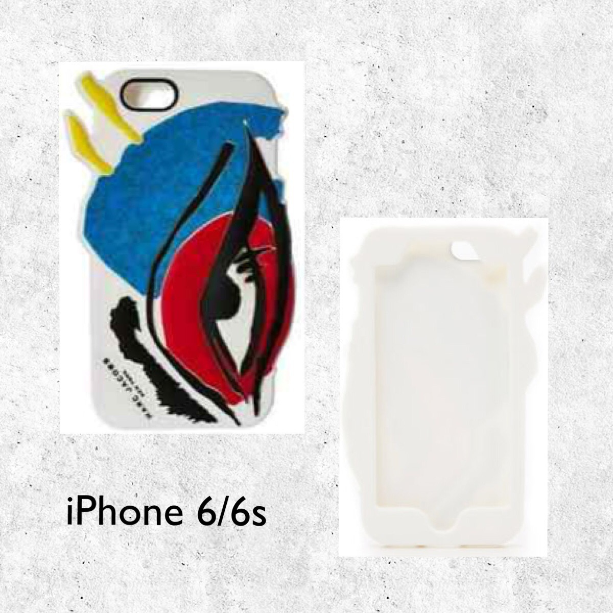 MJ / iPhone 6/6S case / Silicone Eyes