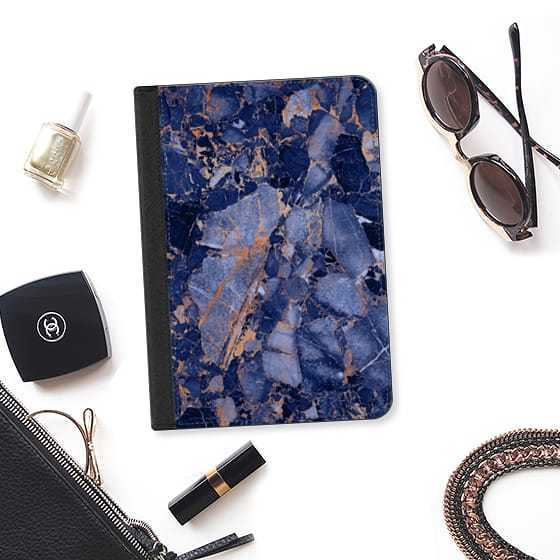 ★Casetify★iPadケース:BLUE MARBLE