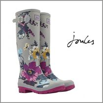 Joules Clothing(ジュールズ クロージング) レインブーツ 関送込【Joules Clothing】SILVER POSY PRINT*レインブーツ*Grey