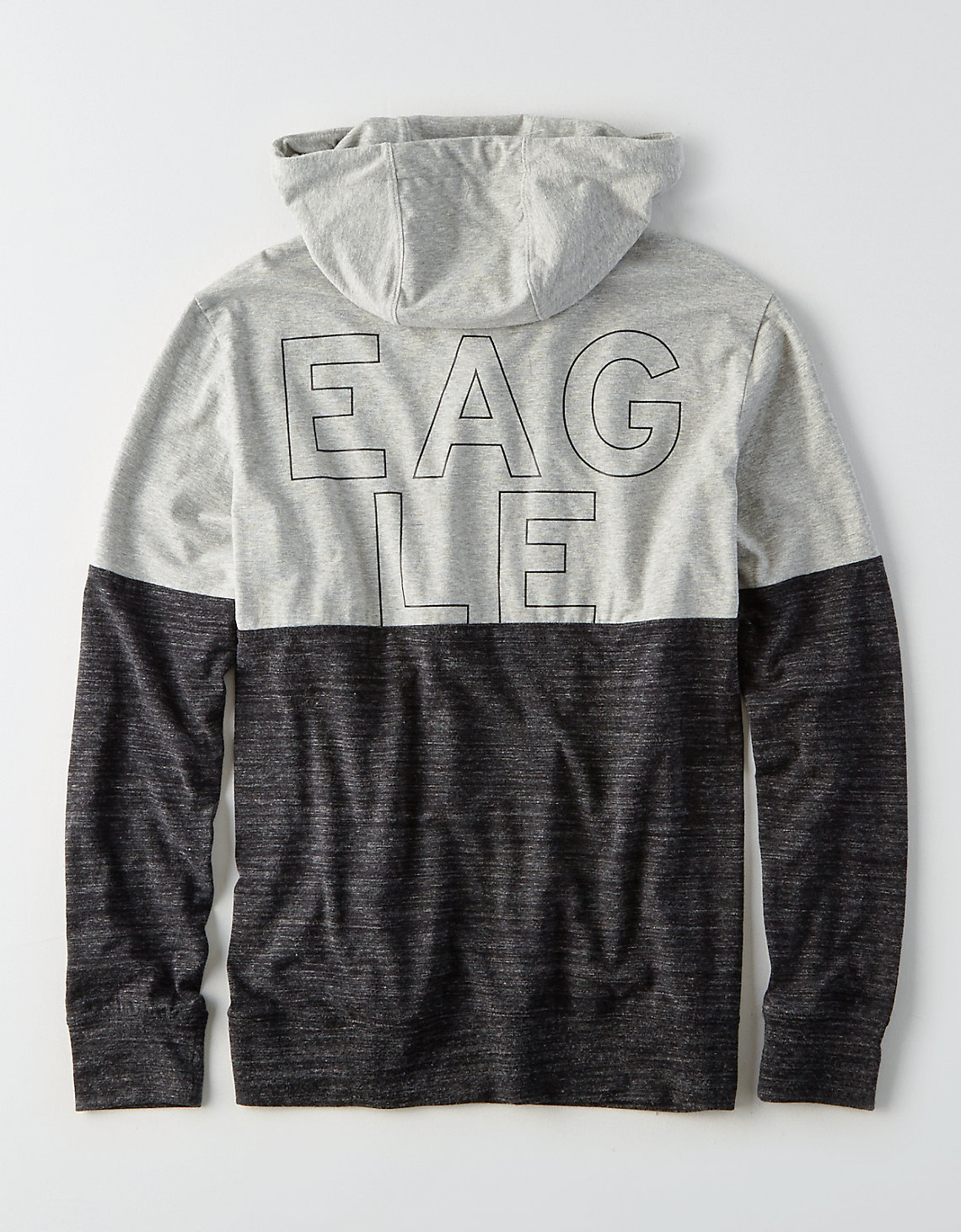 American Eagle AEO Flex Colorblock Graphic Hoodie