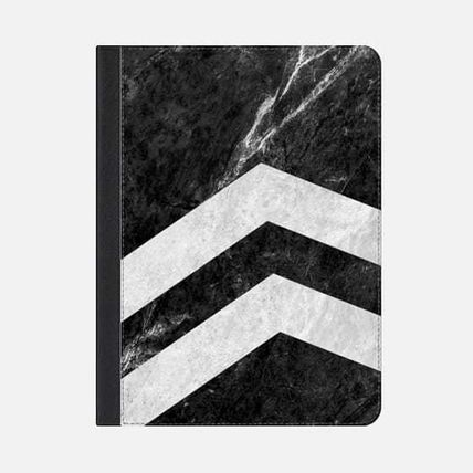 ★Casetify★iPadケース#BLACK 2 STRIPED MARBLE