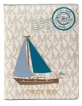 【Michael Kors】パスポートケース Sail Boat Passport Wallet