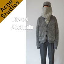 Acne*Rives Mohair ベロアカーディガンセーター