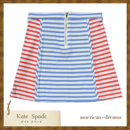 SALE! kate spade 大人もOK! ♪ボーダー柄スカート