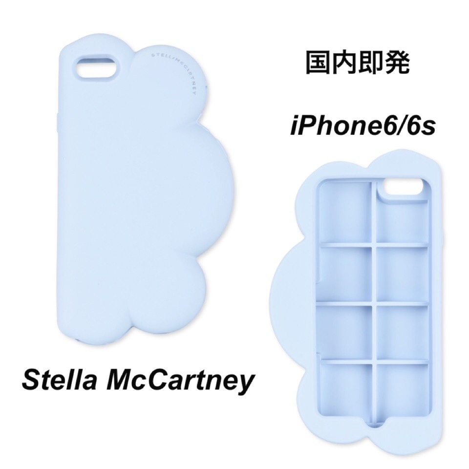 ☆Stella McCartney☆ iPhone6/6sケース 雲型 スカイブルー