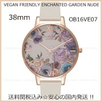 送料税込[Olivia Burton]VEGAN FRIENDLY ENCHANTED GARDEN♪38mm