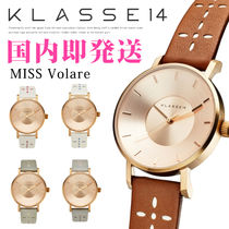 【KLASSE14】クラス#Miss Volare LEATHER BELT 腕時計