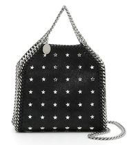 Shaggy Deer Falabella Tiny Bag With Studs
