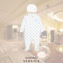 YOUNG VERSACE(ヤングヴェルサーチ) ベビーその他 【17AW】YOUNG VERSACE/Boysブルーメデューサベビーグローセット
