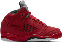 SS17 NIKE AIR JORDAN RETRO 5 RED SUEDE PS 16.5-22cm 送料無料