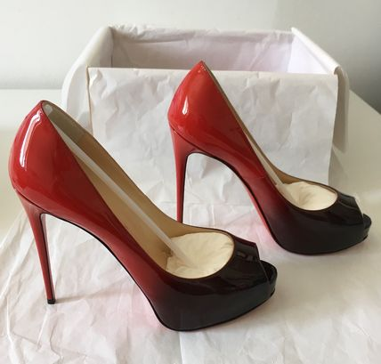 Christian Louboutin パンプス Louboutin(ルブタン)New Very Prive Vernis Degrade 12cm (10)