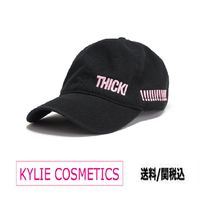 KYLIE COSMETICS(カイリーコスメティクス) キャップ ★送料込【KYLIE COSMETICS】Thick! Dad Hat ロゴ入り キャップ