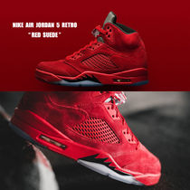 NIKE★AIR JORDAN 5 RETRO★RED SUEDE★レッド スウェード