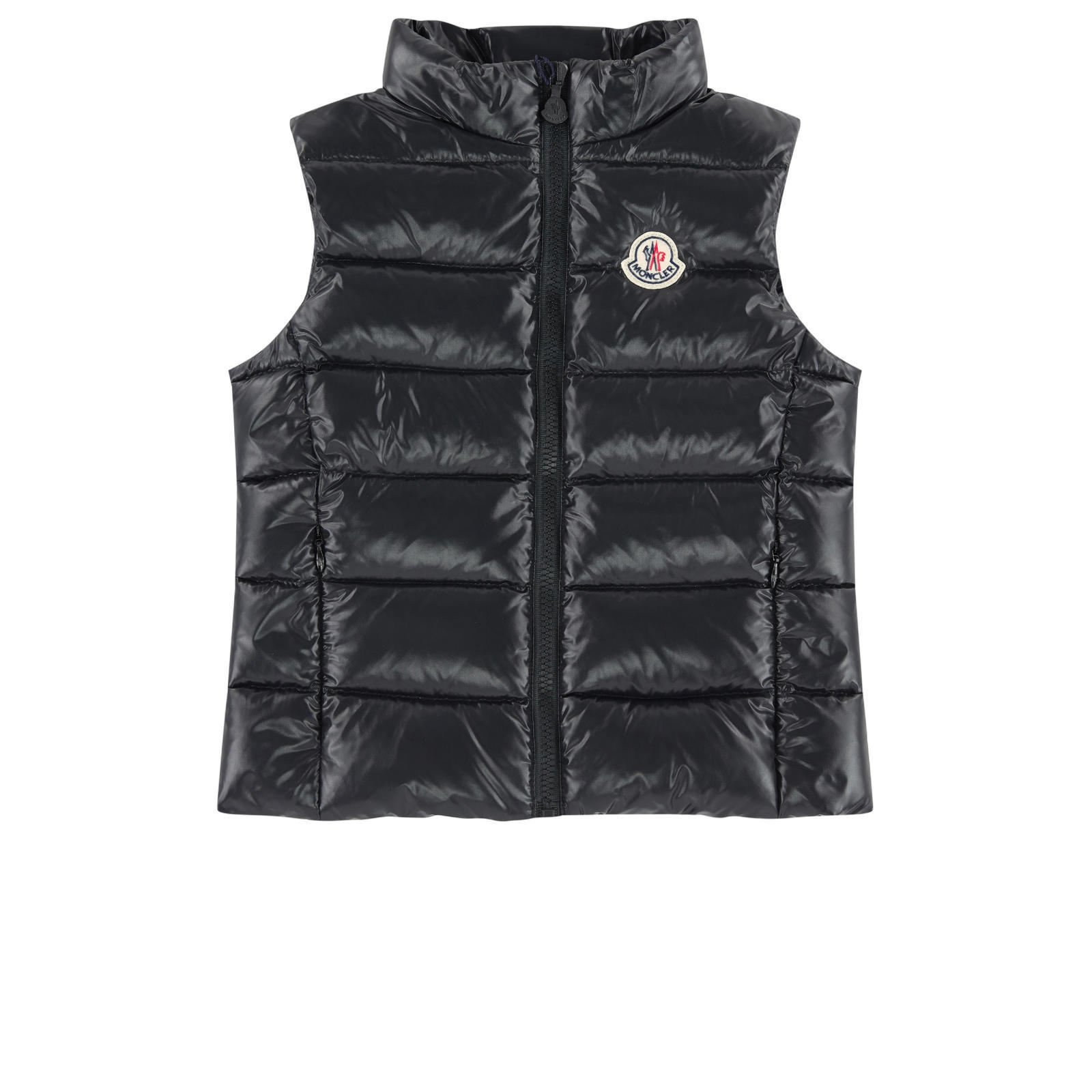 Moncler★2017AW新作★ダウンベスト/黒★4~6A
