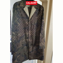 サイズ46 Supreme X LV Trench Coat Reversible Camo Monogram