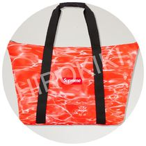 【17SS】Supreme Ripple Packable Tote トートバッグ Red 赤